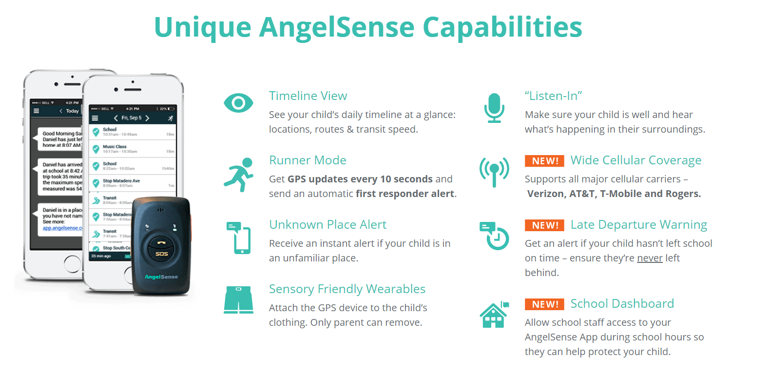Angelsense: A specialist product for children with special needs category
