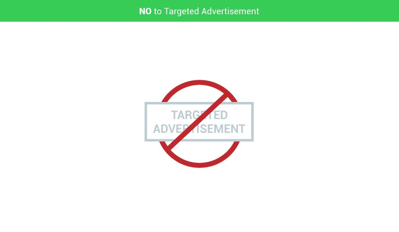 Say No to Targeted Advertisement