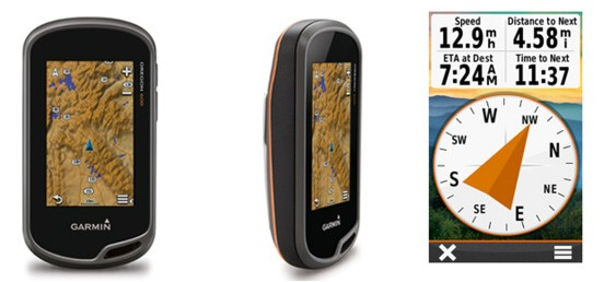 Never underestimate a Garmin, the Oregon 600 is a small but powerful device