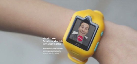dokiWatch: The video call feature makes it a cool and fun gadget for children